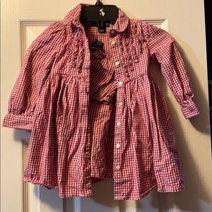 Ralph Lauren Dresses - Ralph Lauren baby girl dress!